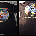 IRON MAIDEN can I play with madness 1988 shirt