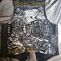Bestial Warlust hand painted leather vest