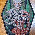 """Cattle Decapitation - Patch - Cattle Decapitation """"To serve man"""" woven patch"""