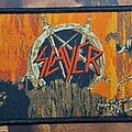 Slayer - Patch - Slayer strip hell awaits woven patch