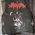 Sarcofago Leather Vest