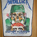 "Metallica - Patch - Metallica ""crash course"" vintage back patch"