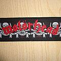 "Motörhead - Patch - Motörhead ""march or die"""