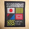 "Scorpions - Patch - Scorpions ""european tour"""