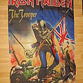 """Iron Maiden - Other Collectable - Iron Maiden """"the trooper"""" flag"""