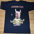"""Julian's Fire - TShirt or Longsleeve - Julian's Fire """"the rock'n'roll is burning world tour"""""""