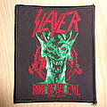 """Slayer - Patch - Slayer """"root of all evil"""""""