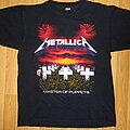 "Metallica - TShirt or Longsleeve - Metallica ""master of puppets"""