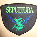 "Sepultura - Patch - Sepultura ""spines logo"""