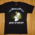 """Metallica - TShirt or Longsleeve - Metallica """"metal up your ass world tour"""""""