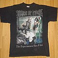 """Cradle Of Filth - TShirt or Longsleeve - Cradle of Filth """"the experimental sex files tourturing europa II"""""""