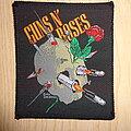 "Guns N' Roses - Patch - Guns'n'Roses ""shooting skull"""