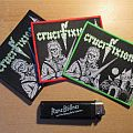 Crucifixion - Green Eyes Patches