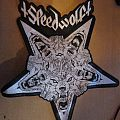 Speedwolf leather backpatch