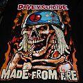 Davey Suicide 2018 European tour shirt