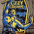 Ozzy Osbourne Diy backpatch