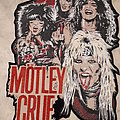 Motley Crue Diy backpatch