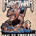 Manowar - Hail To England Diy backpatch