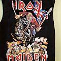 Iron Maiden Diy Jacket