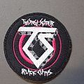 Twisted Sister rough cuts patch