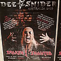 Dee Snider signed 2019 Tour posters Other Collectable
