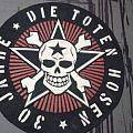 DIE TOTEN HOSEN - Patch - Die Toten Hosen Diy backpatch