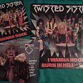 Twisted Sister - I Wanna Rock singles Tape / Vinyl / CD / Recording etc