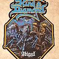 King Diamond Diy backpatch