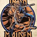 Iron Maiden - Piece Of Mind DIY back patch