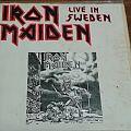 Iron Maiden - Live In Sweden Bootleg LP