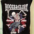 Booze And Glory  diy vest Battle Jacket
