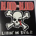 "Blood For Blood - Livin' In Exile 10""ep  - Grey marbled vinyl Tape / Vinyl / CD / Recording etc"