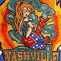 Nashville Pussy - Battle Jacket - Nashville Pussy  Diy vest