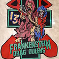 Frankenstein Drag Queens diy back patch