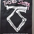 Twisted Sister back patch