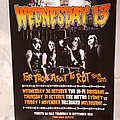 Wednesday 13 2013 tour poster Other Collectable