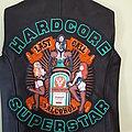 Hardcore Superstar Diy leather vest Battle Jacket