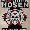 DIE TOTEN HOSEN - Patch - Die Toten Hosen back patch