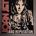 Joan Jett - Patch - Joan Jett back patch