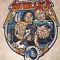 Metallica backpatch