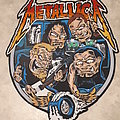 Metallica - Patch - Metallica backpatch