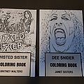 Twisted Sister - Other Collectable - Twisted Sister colouring books