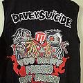Davey Suicide vest DIY Battle Jacket