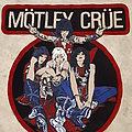 Mötley Crüe - Patch - Motley Crue Diy backpatch