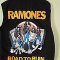 Ramones vest Diy Battle Jacket