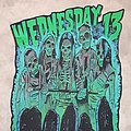Wednesday 13 hand painted back patch