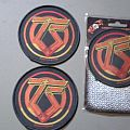Twisted Sister round patches
