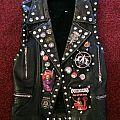 Battle Vest black Leather 1 Battle Jacket