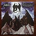 "Nifelheim - Tape / Vinyl / CD / Recording etc -  Nifelheim / Vulcano  - Thunder Metal - Vinyl Split EP 7"""