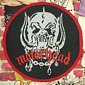 Motorhead - Snaggletooth round (red borders) Patch